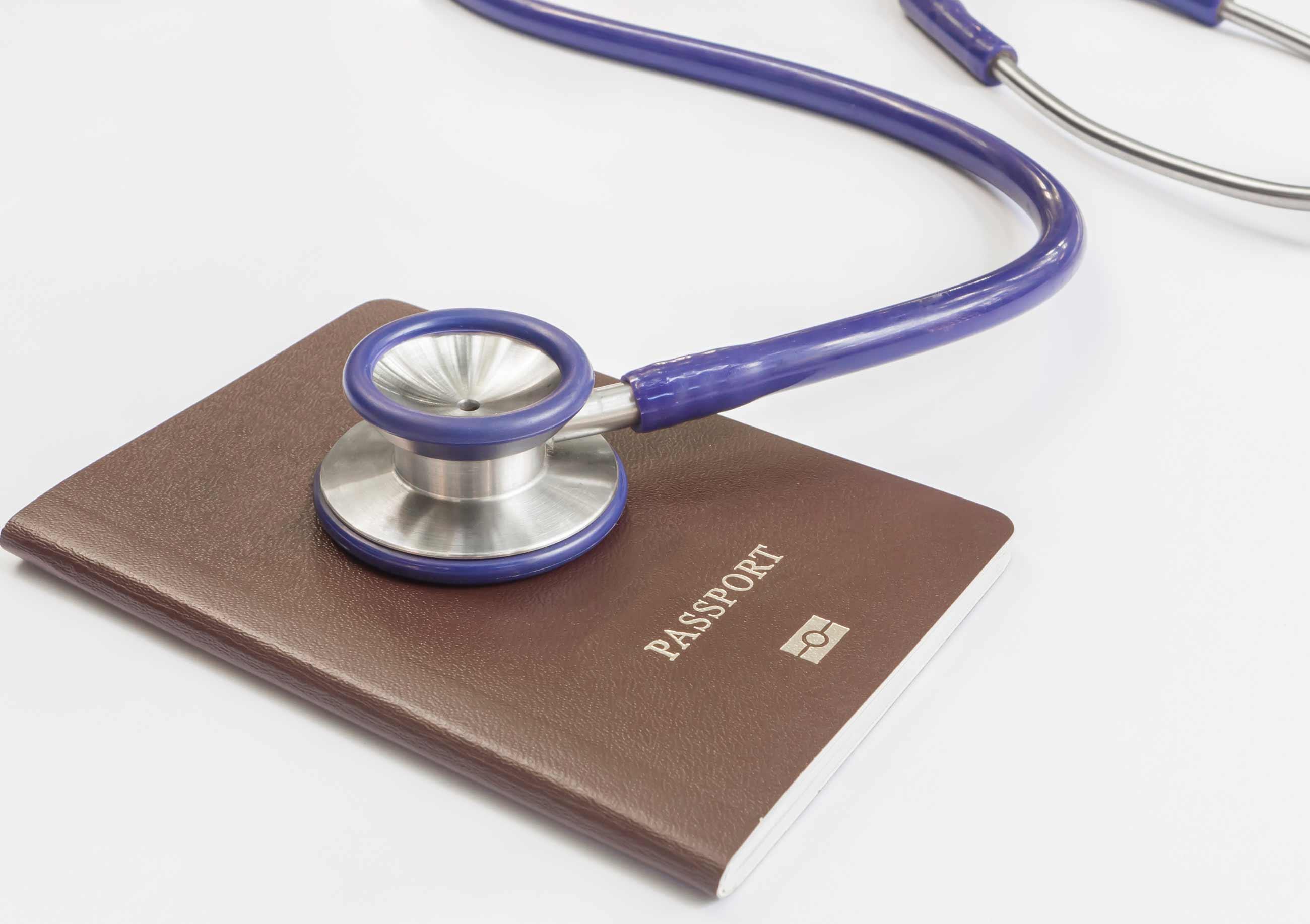 Banner: Refugee Health Passport